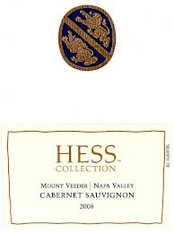 Hess Collection label
